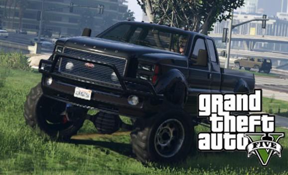 GTA5大卡车,上能越野下能拉货!