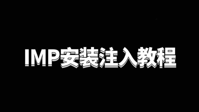 IMP安装注入教程